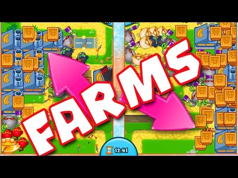 Bloons TD Battles  :: FARMS ARE INSANE ::  SO MUCH MONEY :: BTD BATTLES