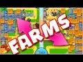 Bloons TD Battles  :: FARMS ARE INSANE ::  SO MUCH MONEY :: BTD BATTLES