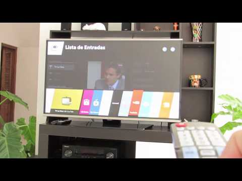 Conectar LG Smart TV a Internet por WiFi