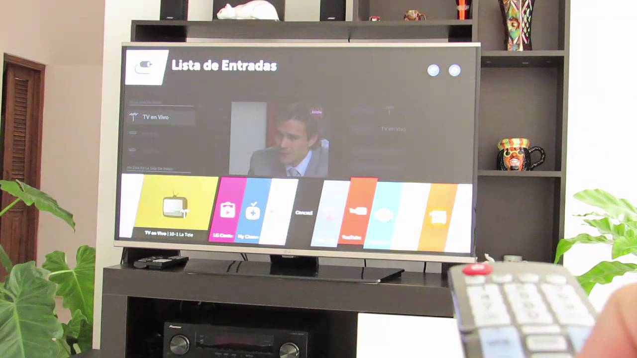 conectar lg smart tv a internet por wifi youtube. Black Bedroom Furniture Sets. Home Design Ideas