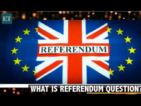 What is a referendum?
