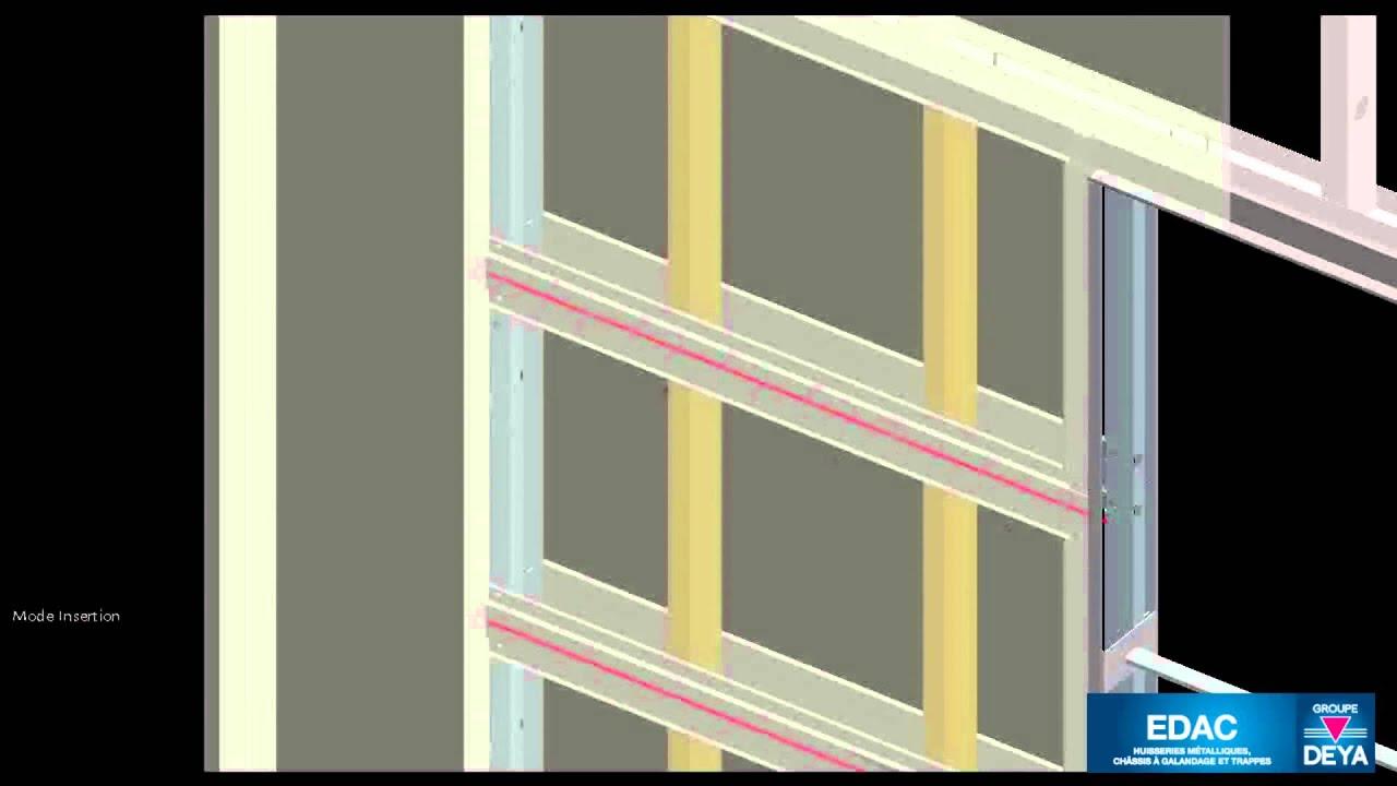 Edac montage des plaques de pl tre sur le ch ssis g for Monter des plaques de platre