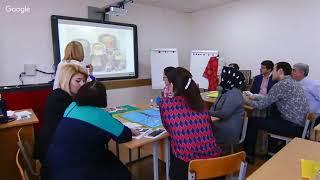 Мастер-класс для учителей истории + Урок русской литературы в 9 классе
