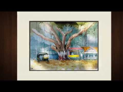 Watercolor Demo by Sudhir Kumbhar Video 2