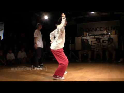Ringo Winbee(エンジェライズ) Vs Rio(Hathors) BEST8 / DANCE@LIVE 2017 KIDS KANTO Vol.1