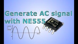 555 ile AC sinyali Oluşturmak İçin nasıl.