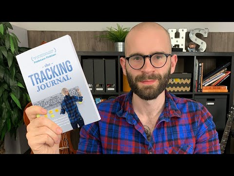 My New Book is Here!! (THE TRACKING JOURNAL)