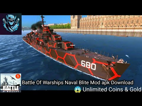 How To Download Battle Of Warships Naval Blite Hack Mod apk 😱 Unlimited Coins & Gold from YouTube · Duration:  4 minutes 1 seconds