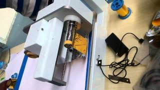 DC-P80 desktop digitail foil printer/desktop hot foil stamping machine