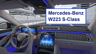 2021 Mercedes S Class - Обзор технологий и систем нового автомобиля