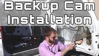Installation of Wireless Backup Camera