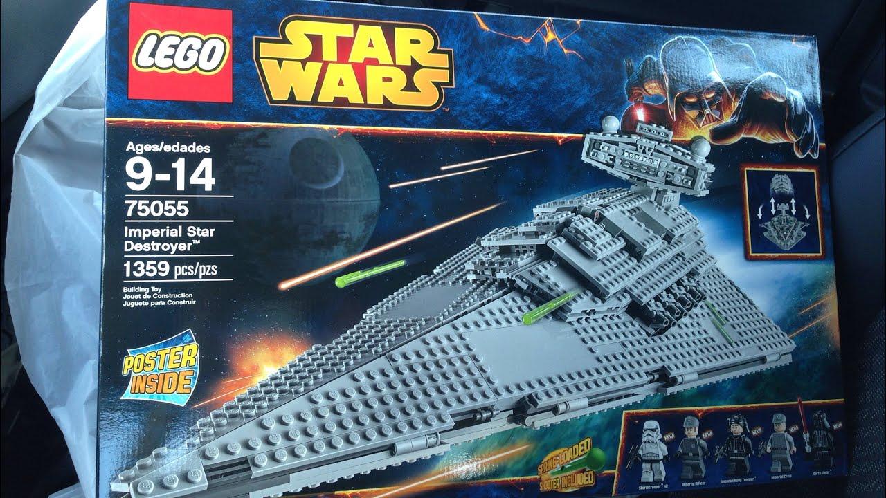 Lego hunt 44 target lego star wars imperial star destroyer youtube - Croiseur interstellaire star wars lego ...