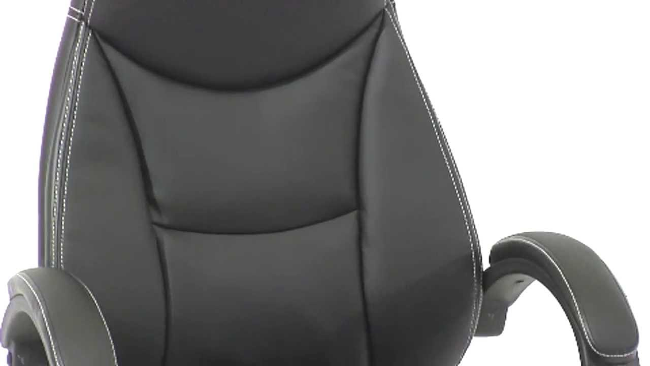 contemporary leather high office chair black. Review High Back Black Leather Contemporary Office Chair, H HLC 0005 HIGH 1B GG Chair