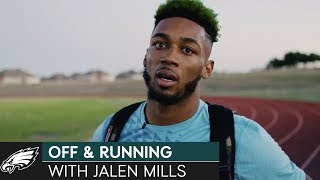 Exclusive: On The Run With Jalen Mills