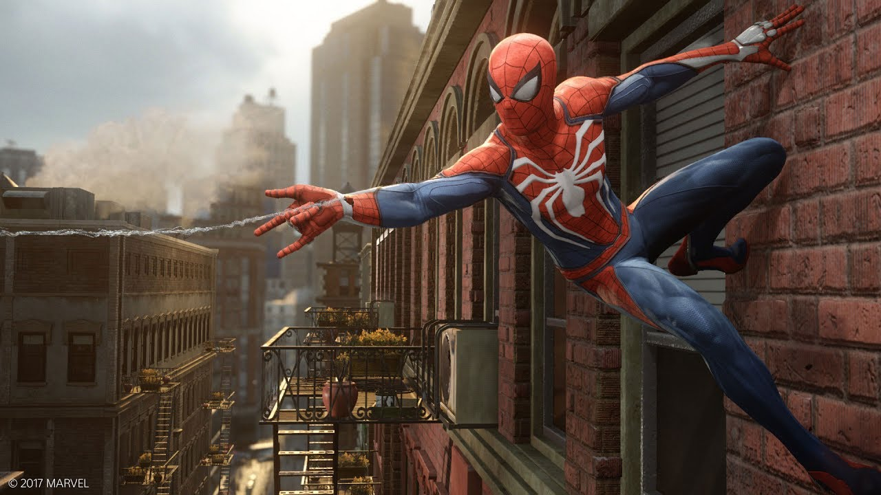 We can play Marvel's Spider-Man on PS5 with 4k/60 fps performance mode