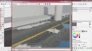 Membuat Material Jalan Basah Menggunakan VRay SketchUp