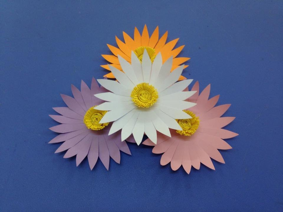 Origami Flowers - YouTube | 720x960