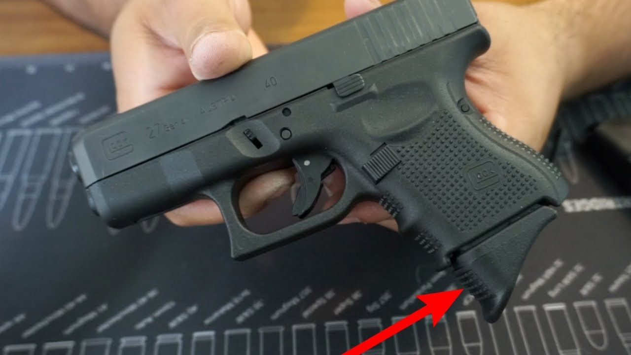 Grip Extension for Glock 26 & 27!
