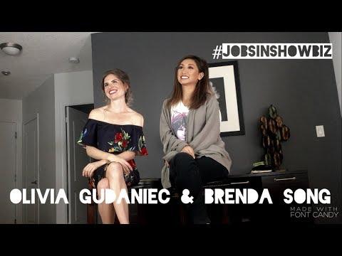 JOBS IN SHOWBIZ Hosted By Olivia **BRENDA SONG**