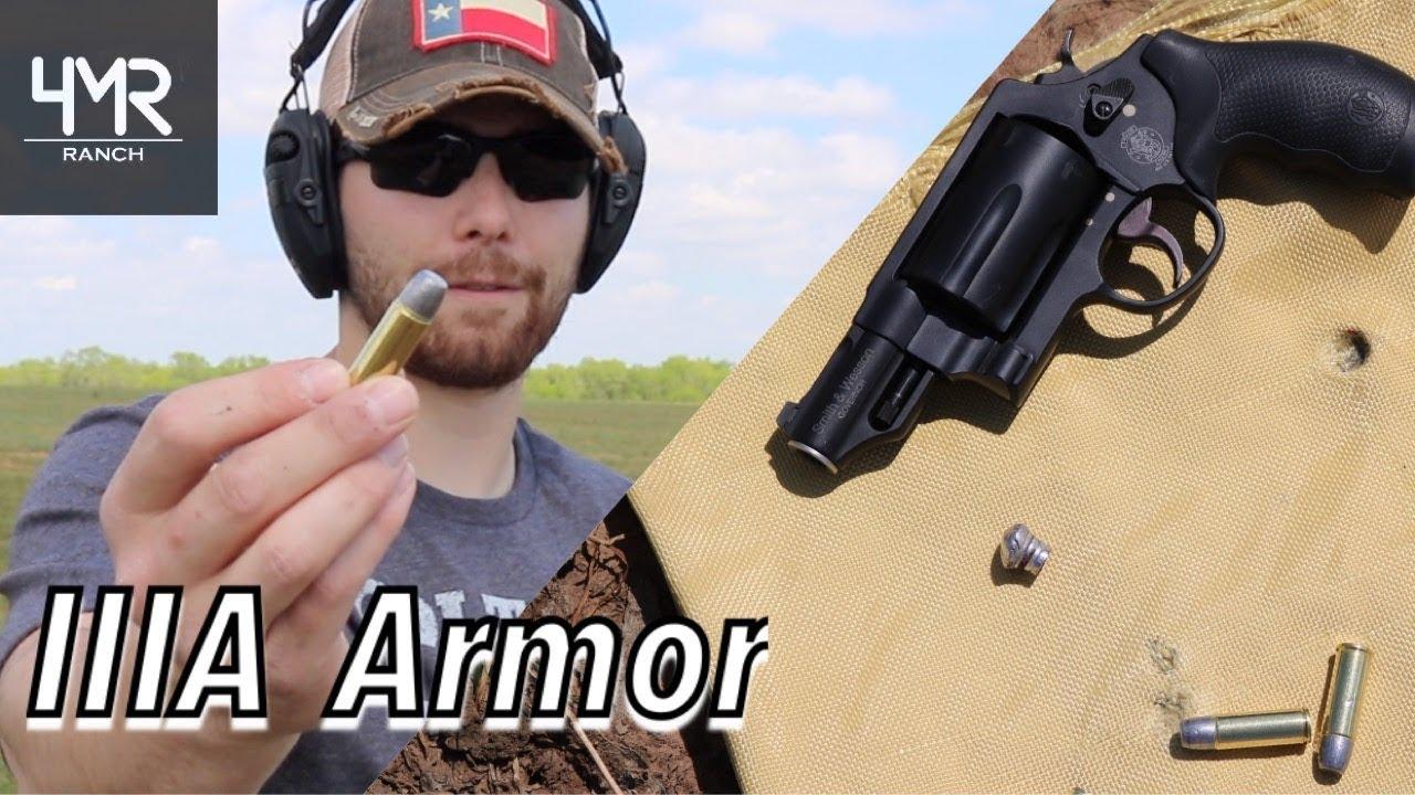 Level IIIA Soft Armor Vs. The