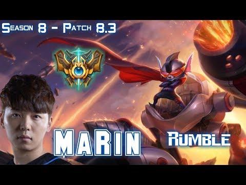 MaRin RUMBLE vs JAX Top - Patch 8.3 KR Ranked