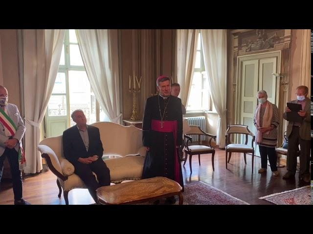 Don Giorgio Ghibaudo, don Francesco Silvestro e don Romano Fiandra ricevono il titolo di Cappellano