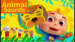 Learn Animal Sounds With Babies | Zool Babies Fun Learning Series | Videogyan Kids Shows