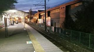 【ラストラン】富士急行5000系電車 富士急ハイランド通過【回送】
