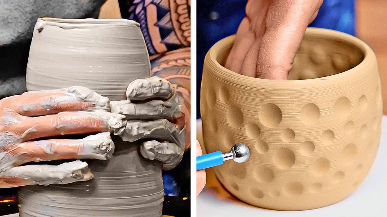 Ideas increíbles para hacer cerámica