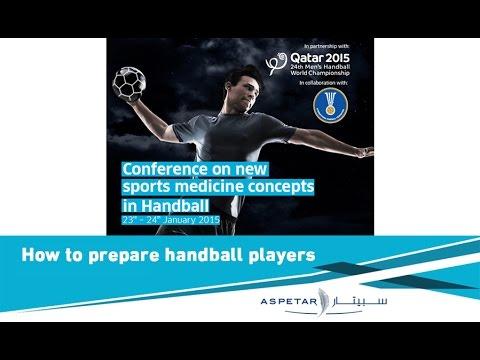 How to prepare handball players by Marco Cardinale - Aspire, Qatar.