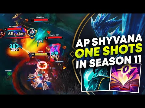 AP SHYVANA ONE SHOTS IN SEASON 11 | League of Legends