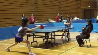 第4回全国ベテランオープン卓球 ぐんま大会 女子50歳未満 リーグ戦