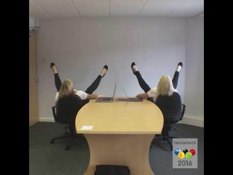 Office Pentathlon - Synchronised Chair Swiveling