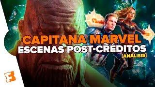 Capitana Marvel: Escenas Post-créditos ¿Tiembla Thanos? l Análisis y Teorías