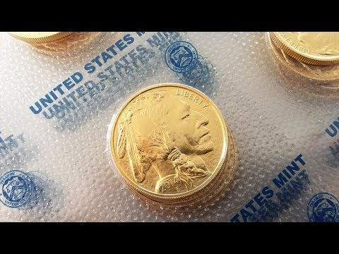 1 Oz Gold Buffalo Coin New Hd 1080p Youtube
