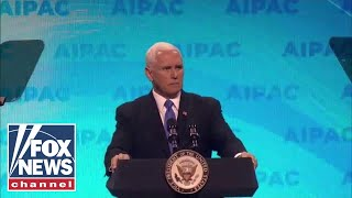 Vice President Pence speaks at the AIPAC 2019 policy conference