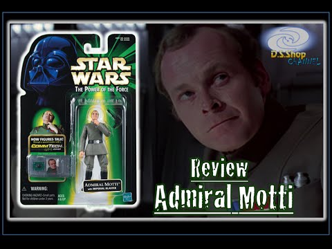 Star Wars Review en español Figura del ADMIRAL MOTTI Coleccion  Power Of The Force