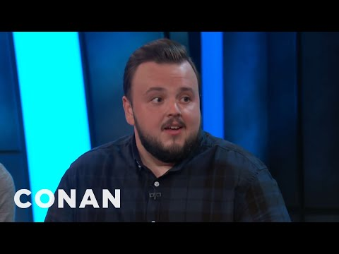 John Bradley Compares Kit Harington To The Mona Lisa  – CONAN on TBS