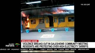 Cape Town station still not back to normal after fires