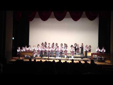 Vict spring concert 2014 recorder 3 blind mice