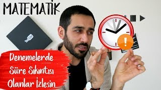 Denemelerde Süre Sıkıntısı Olanlar İzlesin |Matematik | #DK2 #yükselişkampı4
