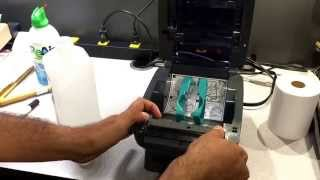 Zebra Printer Maintenace, Cleaning And Calibration
