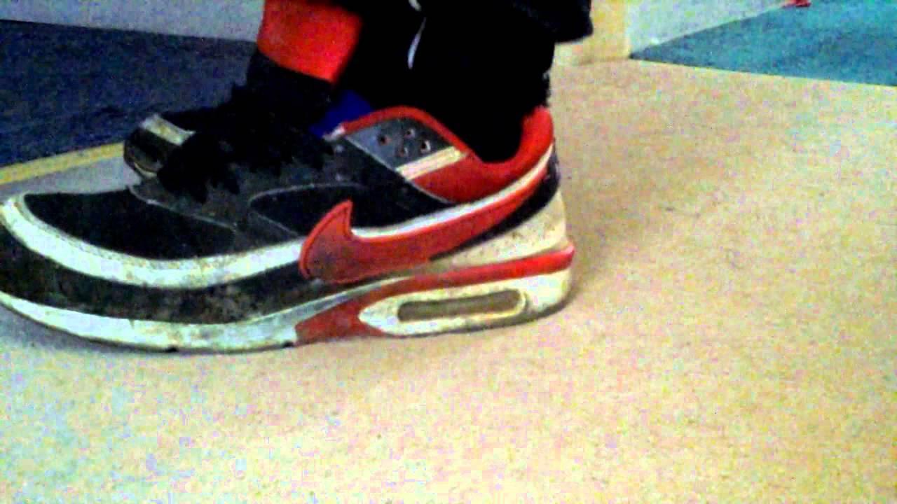 Nike Air Max Classic BW Black Red Trashed YouTube
