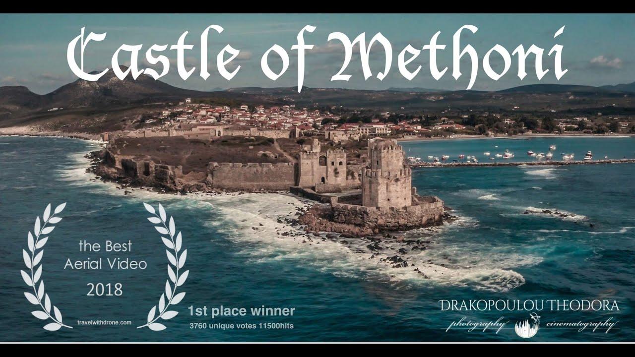 Methoni's Castle 4k