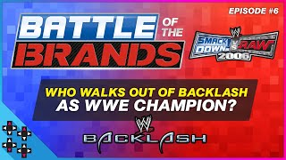 SmackDown vs. Raw 2006 - Battle of the Brands #6: WHO LEAVES BREEZE