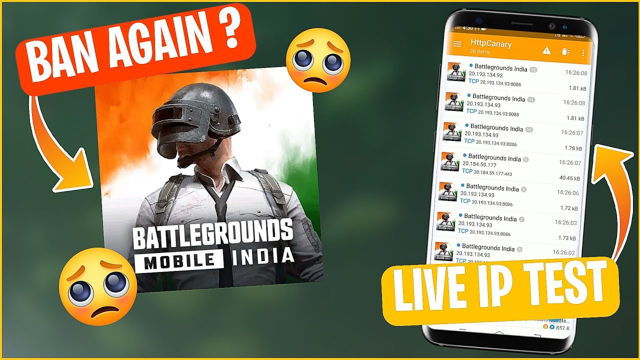 BATTLEGROUNDS MOBILE INDIA ANDROID DATA SENT TO CHINA SERVER ? | BGMI LIVE IP TEST 🙄
