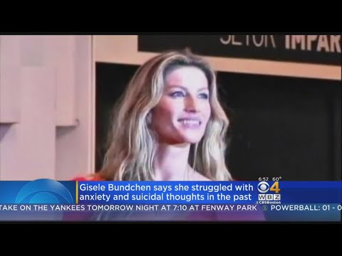 Gisele Bundchen Says She Used To Contemplate Suicide
