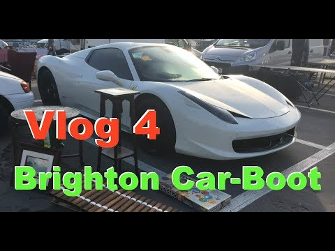 Musical finds on the Brighton Carboot sales Vlog-4