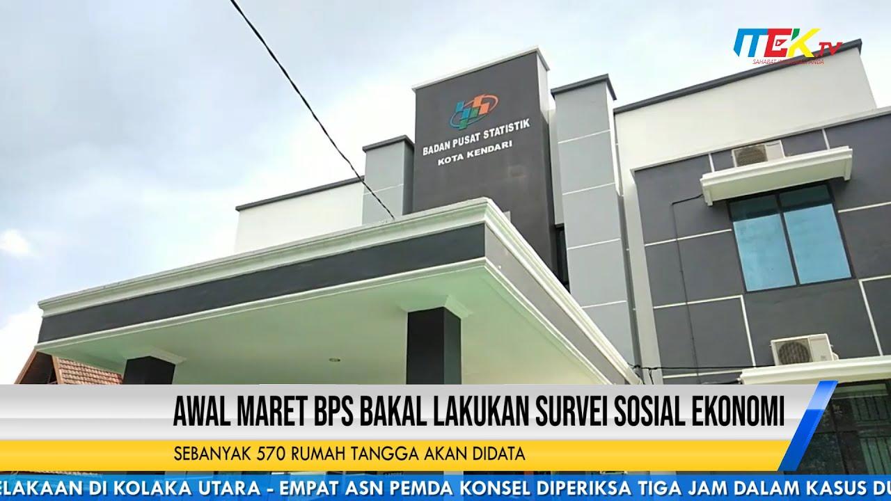 Awal Maret BPS Bakal Lakukan Survei Sosial Ekonomi