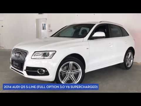 2017 Audi Q5 S Line Full Option 3 0 V6 Supercharged